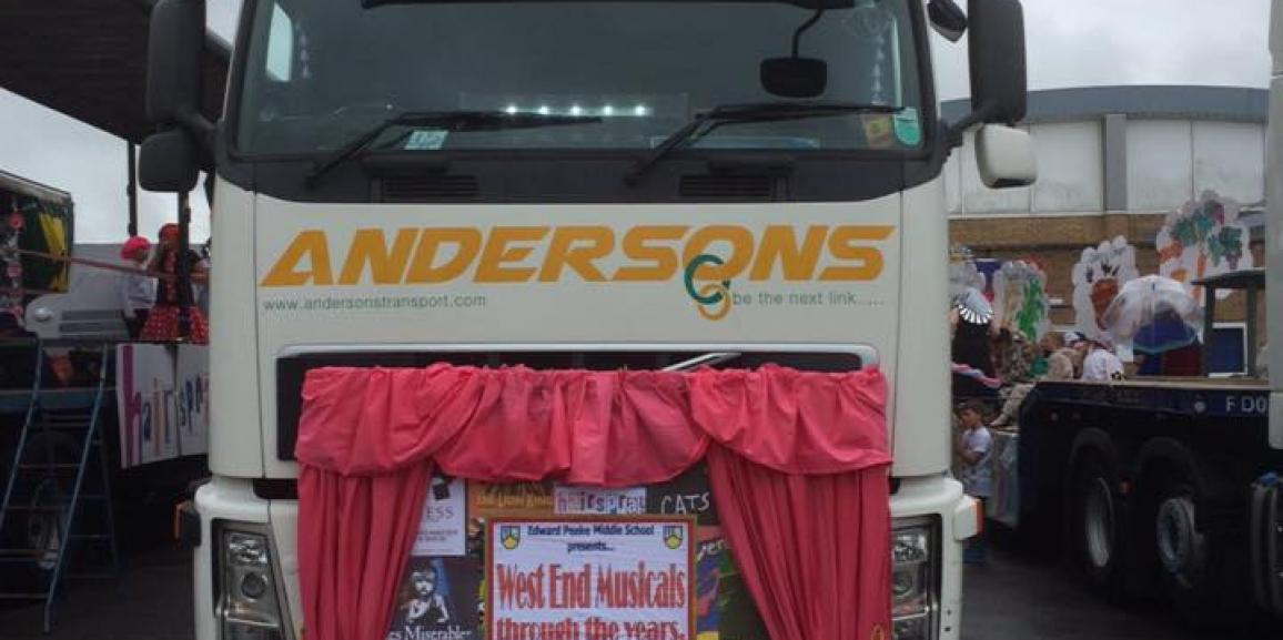 Andersons Lorry From Biggleswade Carnival