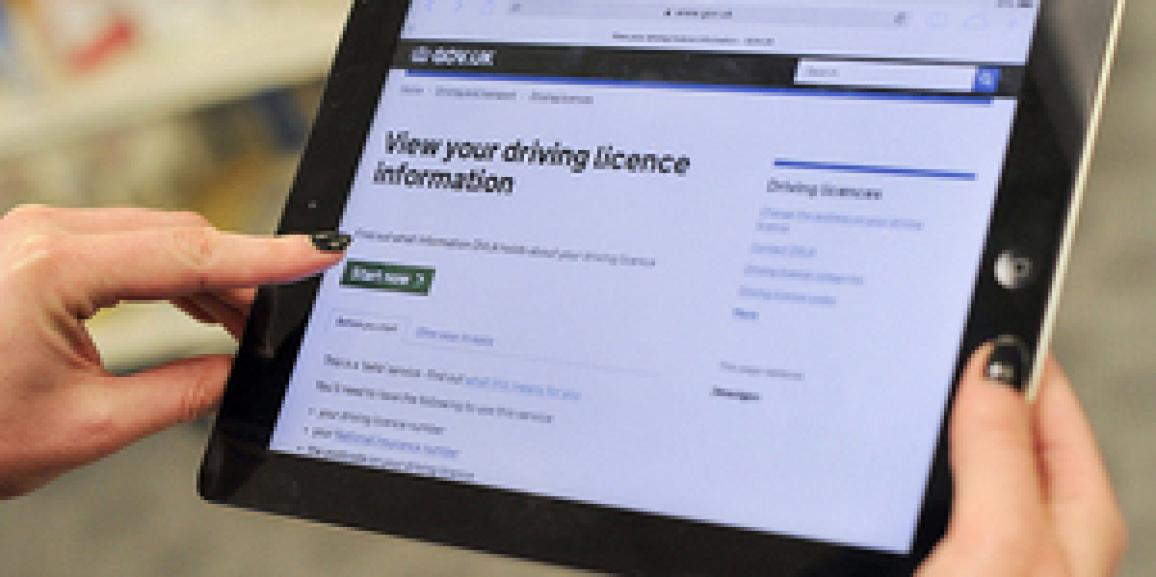 DVLA's Share Driving Licence service is available