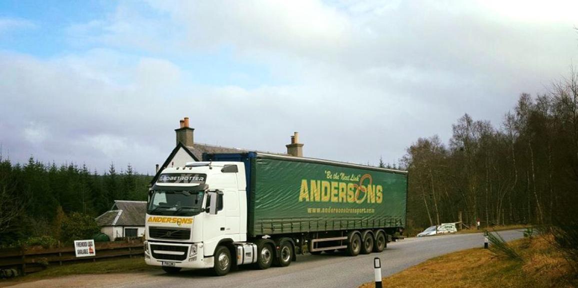 Andersons In Dalwhinnie, Scotland, United Kingdom