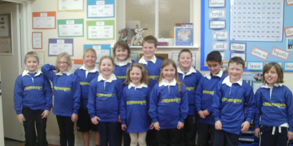 Andersons Sponsor Everton Lower School