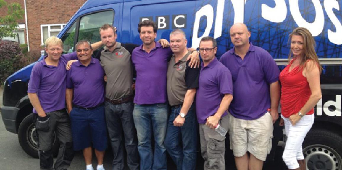 Andersons Help DIY SOS at Great Ormond Street Hospital